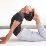 One of our yoga teachers Dr Ajay Dubey