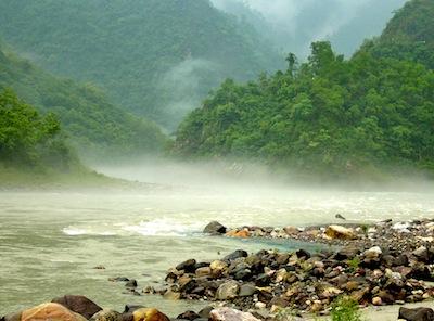 Gnaga-River Rishikesh